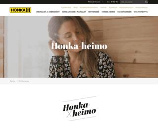 hub.honka.fi screenshot