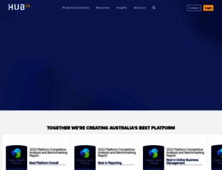 hub24.com.au screenshot
