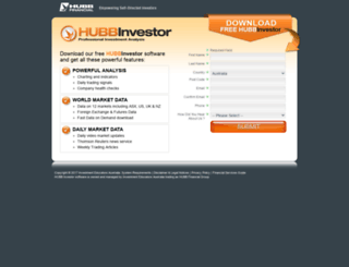 hubbinvestor.com screenshot