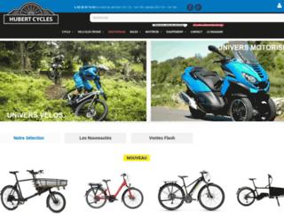 hubert-cycles.com screenshot