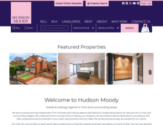 hudson-moody.com screenshot