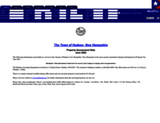 hudsonnh.patriotproperties.com screenshot