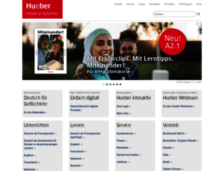 hueber.de screenshot