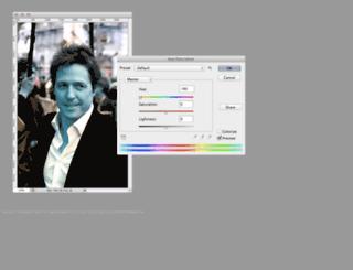 huegrant.com screenshot