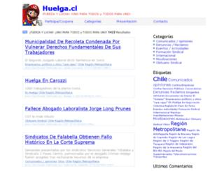 huelga.cl screenshot