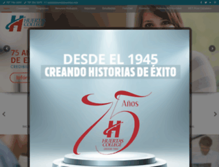 huertas.edu screenshot