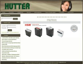 huetter.com screenshot