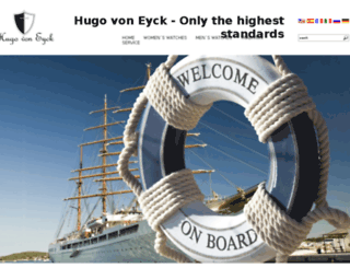 hugo-von-eyck.co.uk screenshot