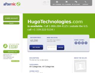 hugotechnologies.com screenshot