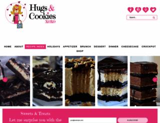 hugsandcookiesxoxo.com screenshot