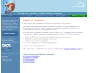 huisgarant.nl screenshot