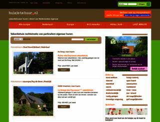 huisjetehuur.nl screenshot