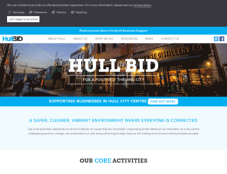 hullbid.co.uk screenshot