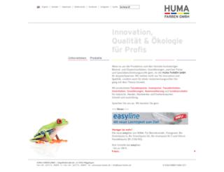 huma-color.de screenshot