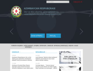 human.gov.az screenshot