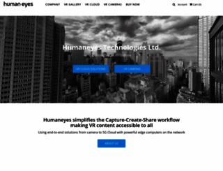 humaneyes.com screenshot