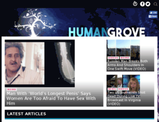 humangrove.org screenshot