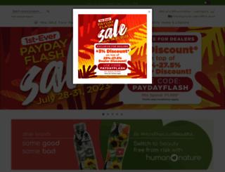 humanheartnature.com screenshot