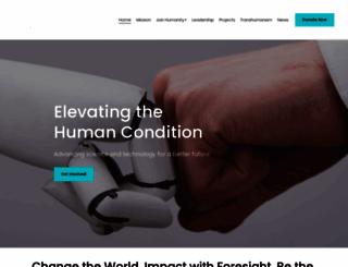 humanityplus.org screenshot