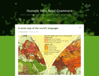 humans-who-read-grammars.blogspot.com screenshot