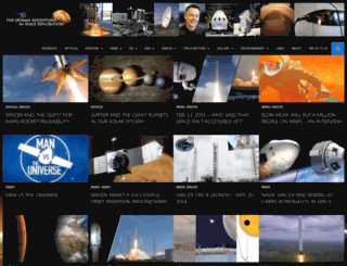 humansinspace.org screenshot
