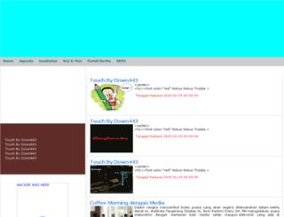 humas.tangerangselatankota.go.id screenshot