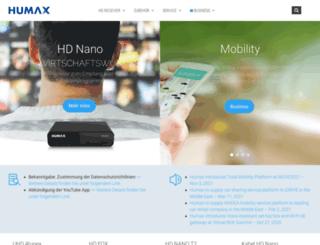 humax-digital.de screenshot