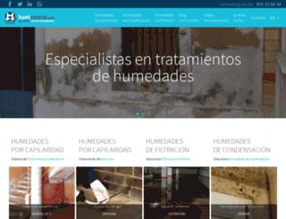 humicontrol.com screenshot