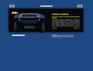 hummer.com.ro screenshot