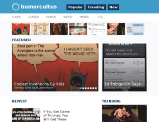 humorcultus.co screenshot