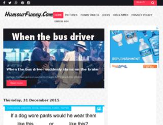 humourfunny.com screenshot