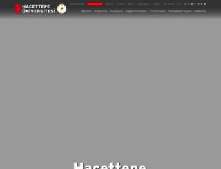 hun.edu.tr screenshot