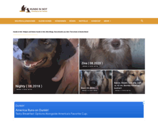 hunde-in-not.com screenshot