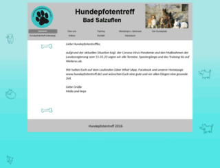 hundepfotentreff.de screenshot