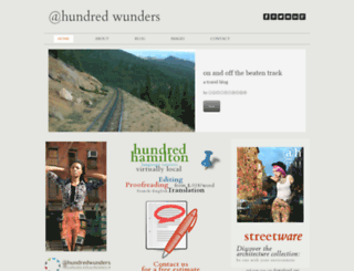hundredwunders.com screenshot