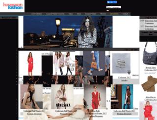 hungarianfashion.com screenshot