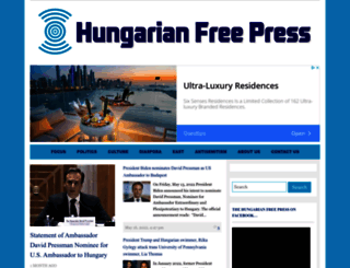 hungarianfreepress.com screenshot