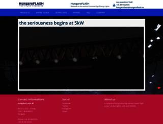 hungaroflash.com screenshot