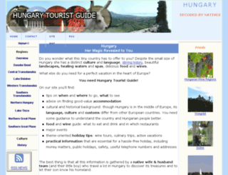 hungary-tourist-guide.com screenshot