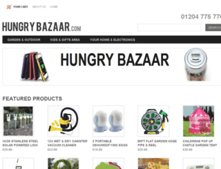hungrybazaar.com screenshot
