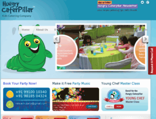 hungrycaterpillar.co.in screenshot