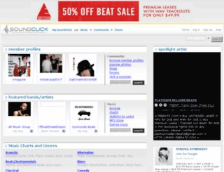 hunnidbeatz.com screenshot