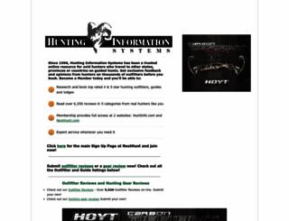 huntinfo.com screenshot