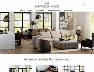 huntingtonhouse.com screenshot