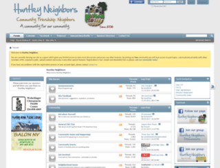 huntleyneighbors.com screenshot