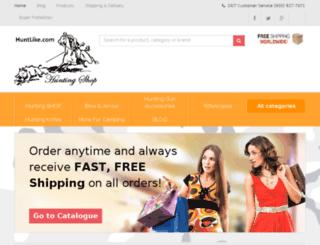 huntlike.com screenshot