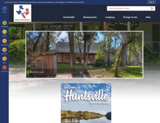huntsvilletexas.com screenshot
