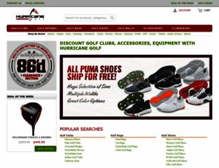 hurricanegolf.com screenshot