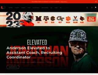 hurricanesports.com screenshot