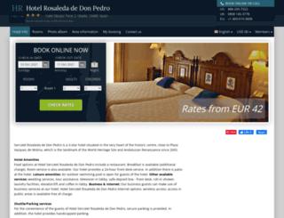 husa-rosaleda-don-pedro.h-rez.com screenshot